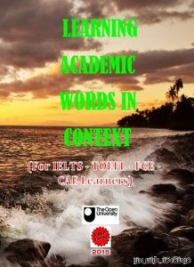 Learning Academic Words in Context