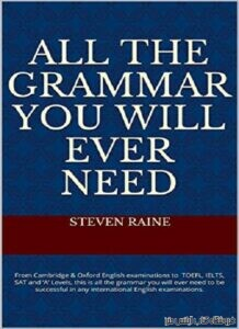 All The Grammar You Will EVER NEED
