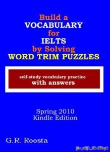 Build a Vocabulary for IELTS by Solving Word Trim Puzzles