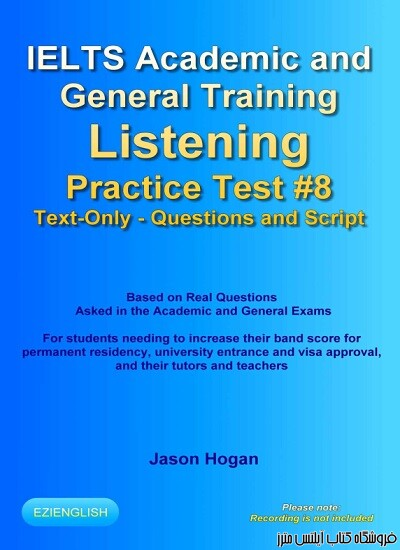 IELTS Academic and General Training Listening Practice Test #8