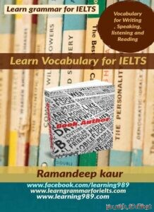 LEARN VOCABULARY FOR IELTS