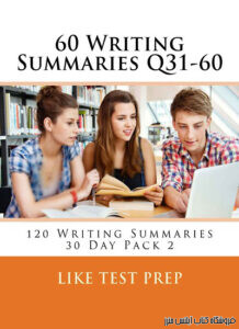 Writing Summaries Q31-60 120 Writing Summaries 30 Day Pack 2
