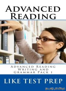 Advanced Reading Writing and Grammar Pack Book 1