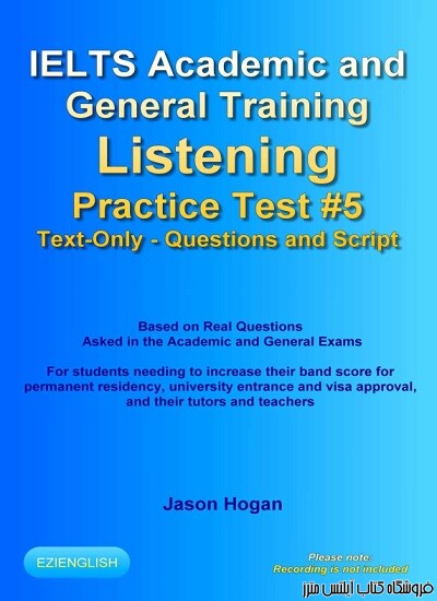 IELTS Academic and General Training Listening Practice Test #5