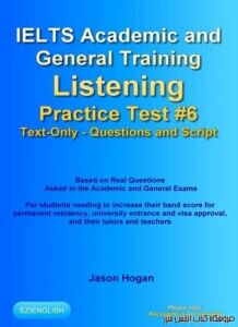 IELTS Academic and General Training Listening Practice Test #6