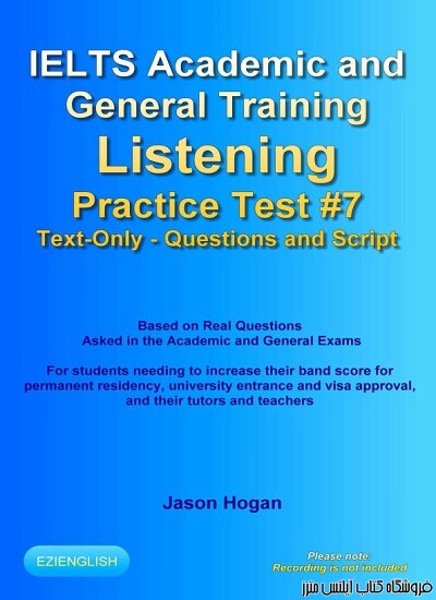 IELTS Academic and General Training Listening Practice Test #7