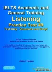 IELTS Academic and General Training Listening Practice Test #9