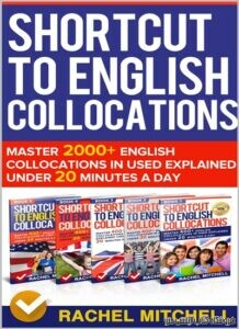 Shortcut To English Collocations-Master 2000+ 5 books in 1 Box set