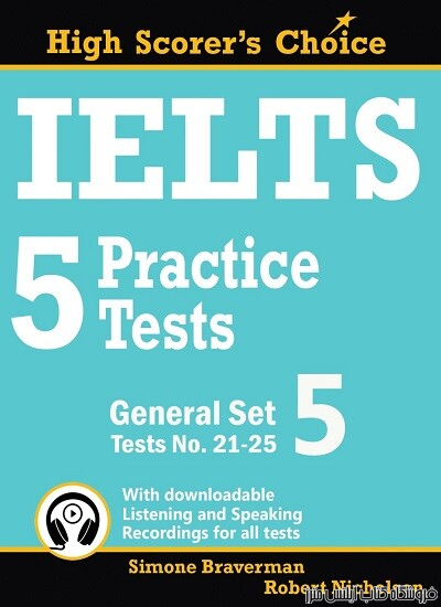 IELTS 5 Practice Tests, General Set 5 – Tests No 21-25