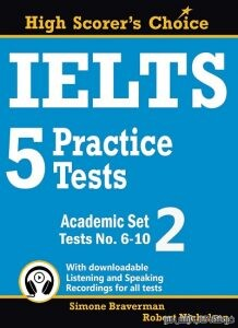 IELTS 5 Practice Tests, Academic Set 2: Tests No. 6-10