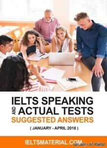 IELTS speaking Actual Tests (January-April) 2018