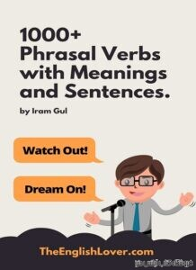 1000Phrasal Verbs with Meanings and Sentences